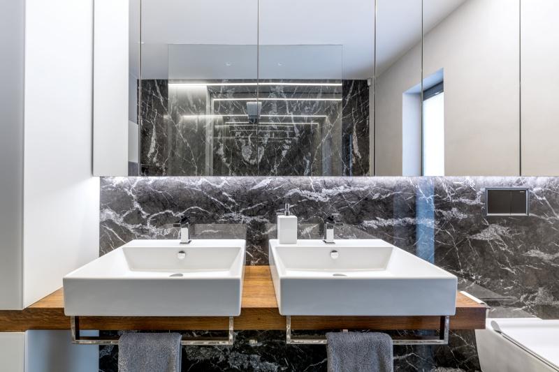 koupelny Praha - umyvadlo